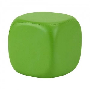 CUBO LISO ANTI-STRESS COLOR VERDE