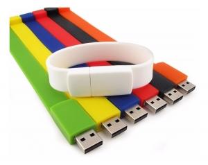 MEMORIAS USB DE PULSERA COLORES SURTIDOS
